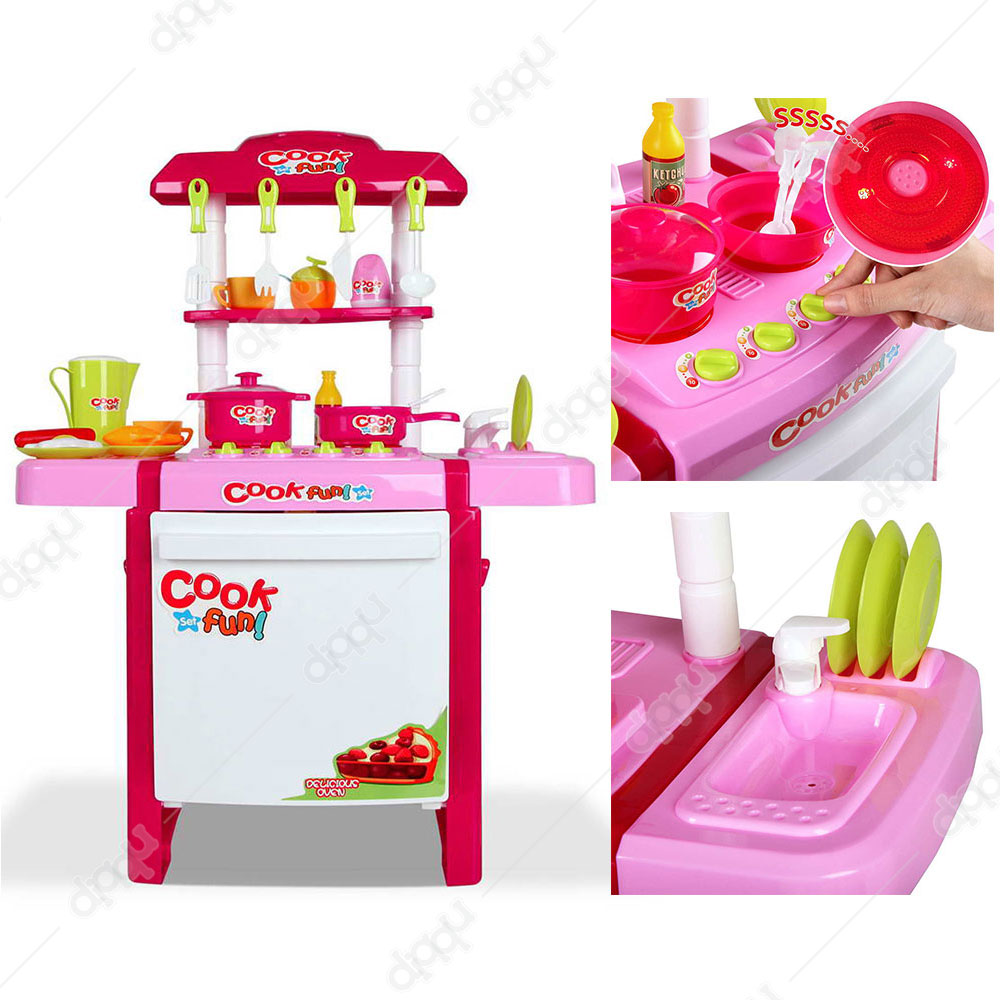 Shop Little Chefs Kitchen Play Set | Buy Little Chefs Kitchen Play ...