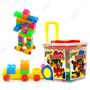160 Pieces Blocks Box Toy Set