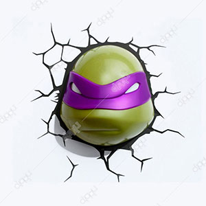 3D Donatello TMNT Light