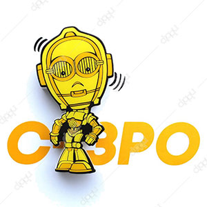 3D Episode7 Mini C-3Po Light