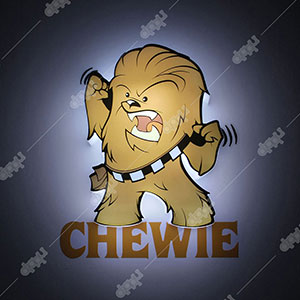 3D Episode7 Mini Chewie Light