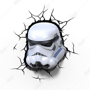 3D EP7 Storm Trooper Light Star Wars