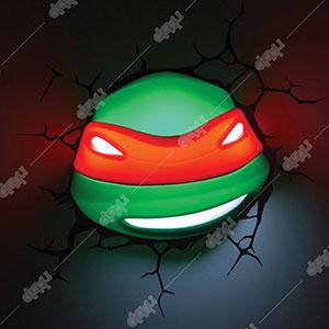3D Raphael TMNT Light