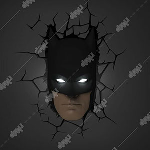 3D Light FX Batman Mask 3D Deco Light