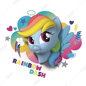 Rainbow Dash My Little Pony 3D Deco Light