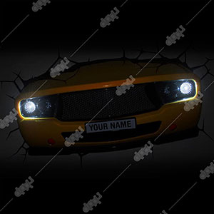 3D Muscle Car Light