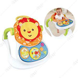 4 in 1 Multi Functional Entertainer Baby Walker