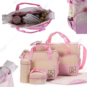 5 Pcs Baby Bag set