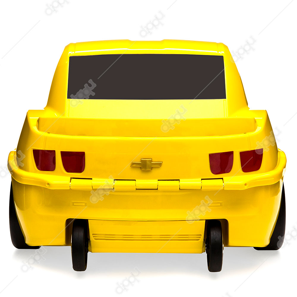 Welly Yellow Chevrolet Camaro ZL1 Rolling Luggage