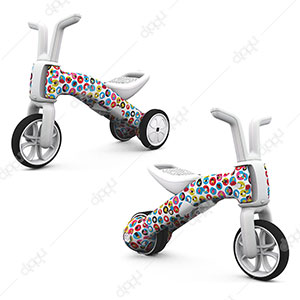 Bunzi 2-in-1 Gradual Balance Bike (Fad Earth)