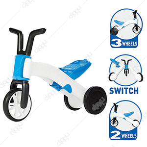 Bunzi 2-in-1 Gradual Balance Bike (Blue)