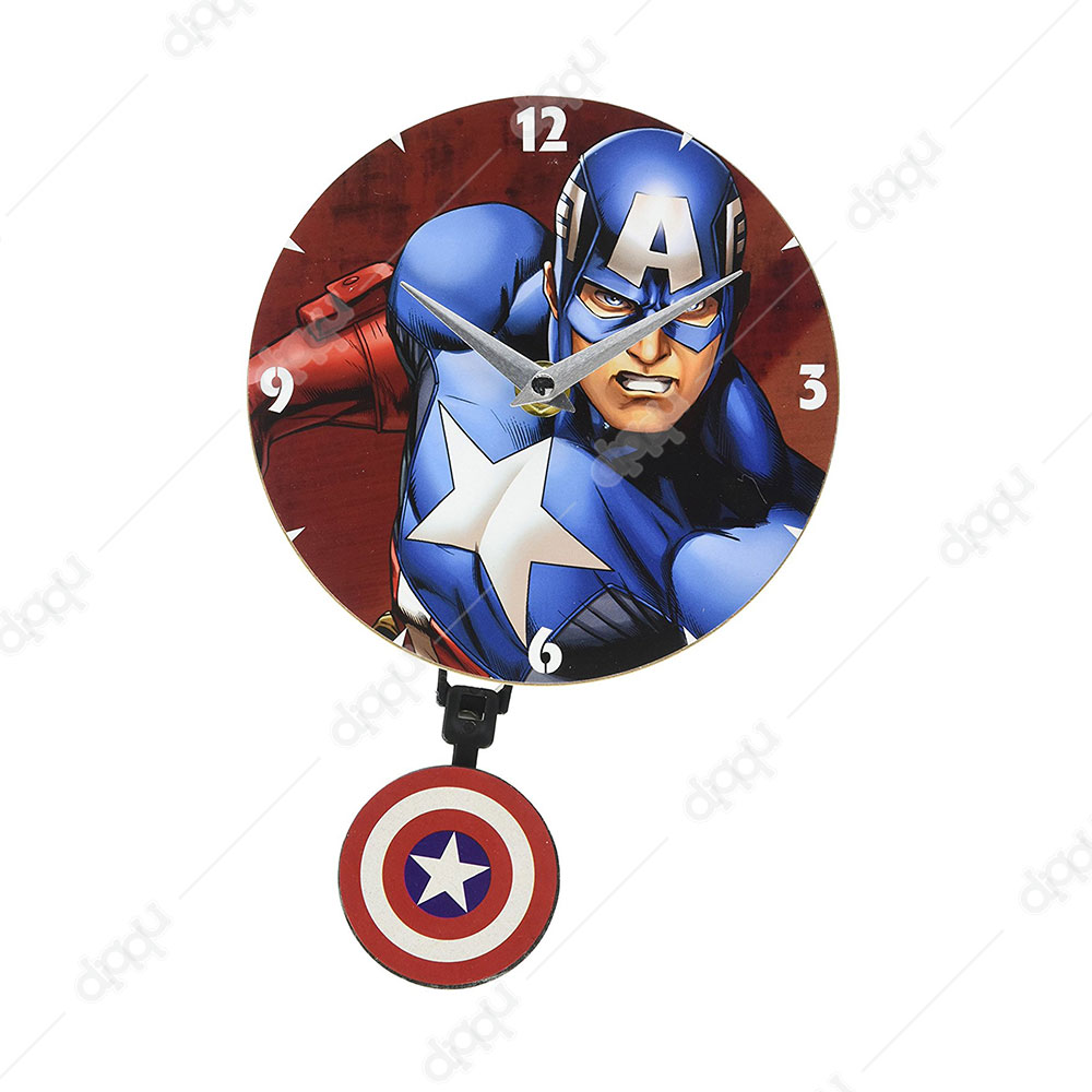 NJ Croce Captain America Mini Motion Clock