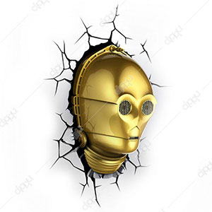 Classic Star Wars C3PO Light Assorted