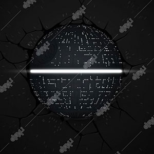 Star Wars Death Star Light - 3D Light