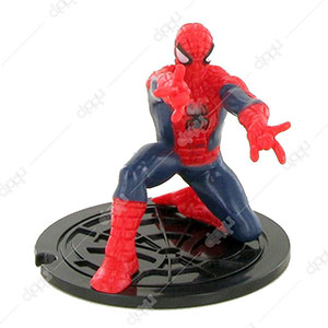 Spiderman Bent Down Figurine