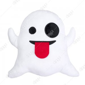Ghost Emoji Pillow
