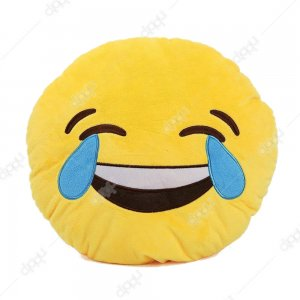 Lol Emoji Pillow
