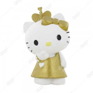 Hello Kitty Gold Figurine