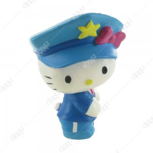 Hello Kitty Police Figurine