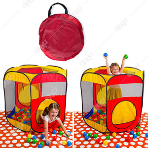 Hexagon Ball Pit Play Tent