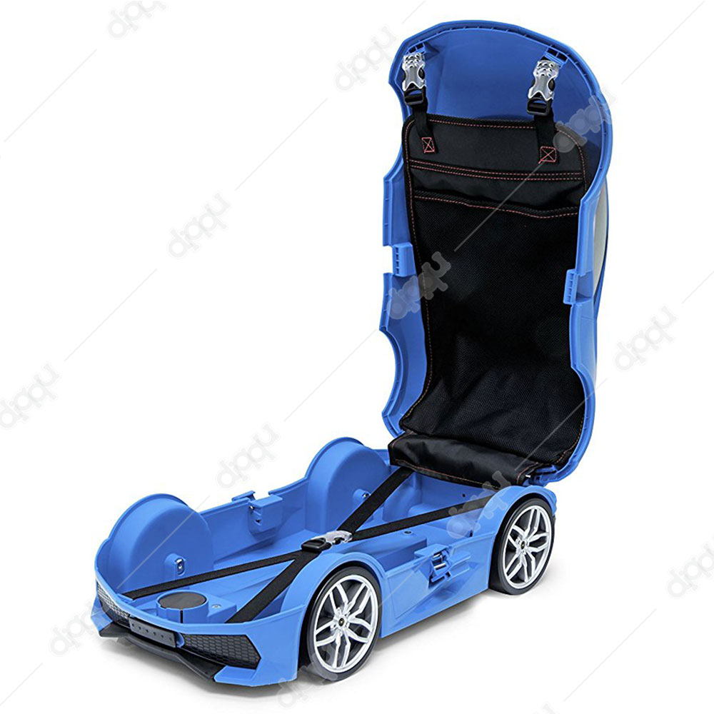Welly Blue Lamborghini Huracan Trolley Bag