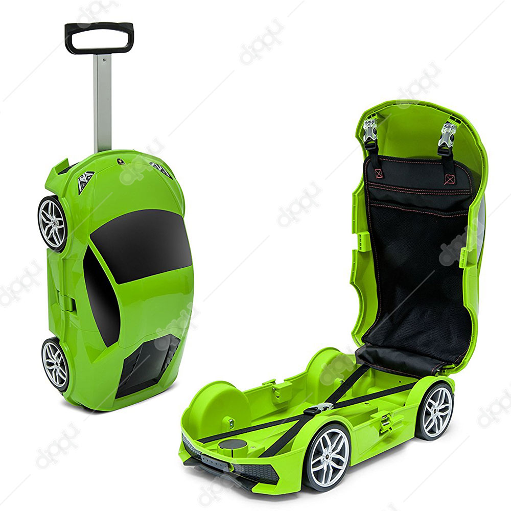 Welly Green Lamborghini Huracan Trolley Bag