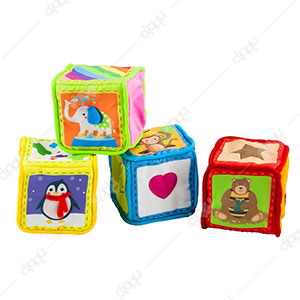 Little Hero Grab & Sense Soft Cubes