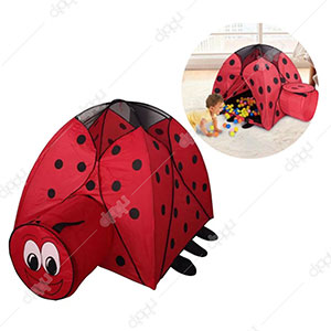 Lovely Beetle Magic Ball House & Tunnel Set