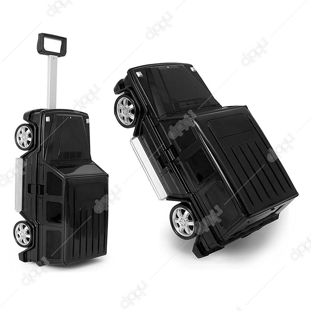 Welly Black Mercedes G63 Trolley Bag