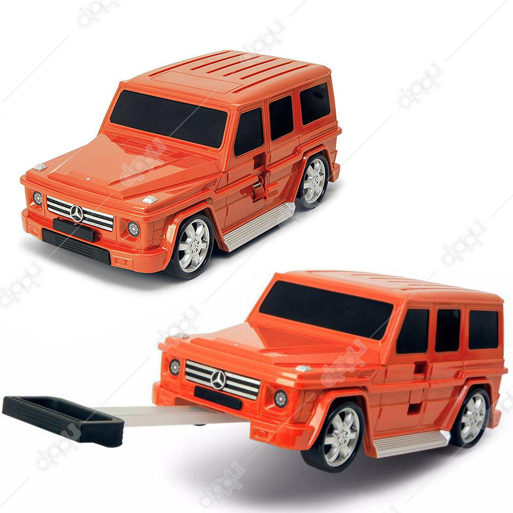 Welly Orange Mercedes G63 Trolley Bag