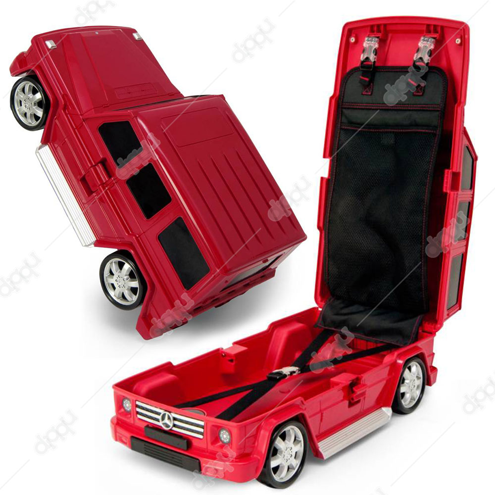 Welly Red Mercedes G63 Trolley Bag