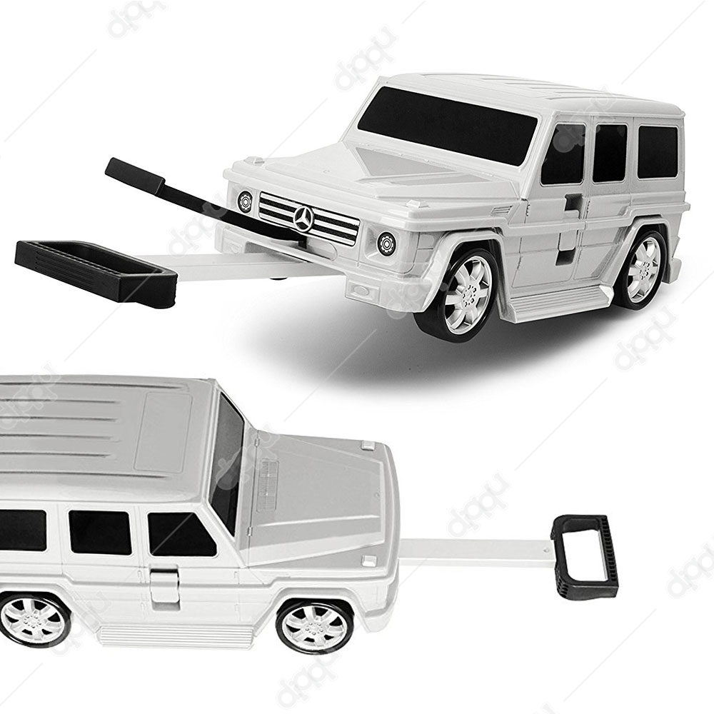 Welly White Mercedes G63 Trolley Bag