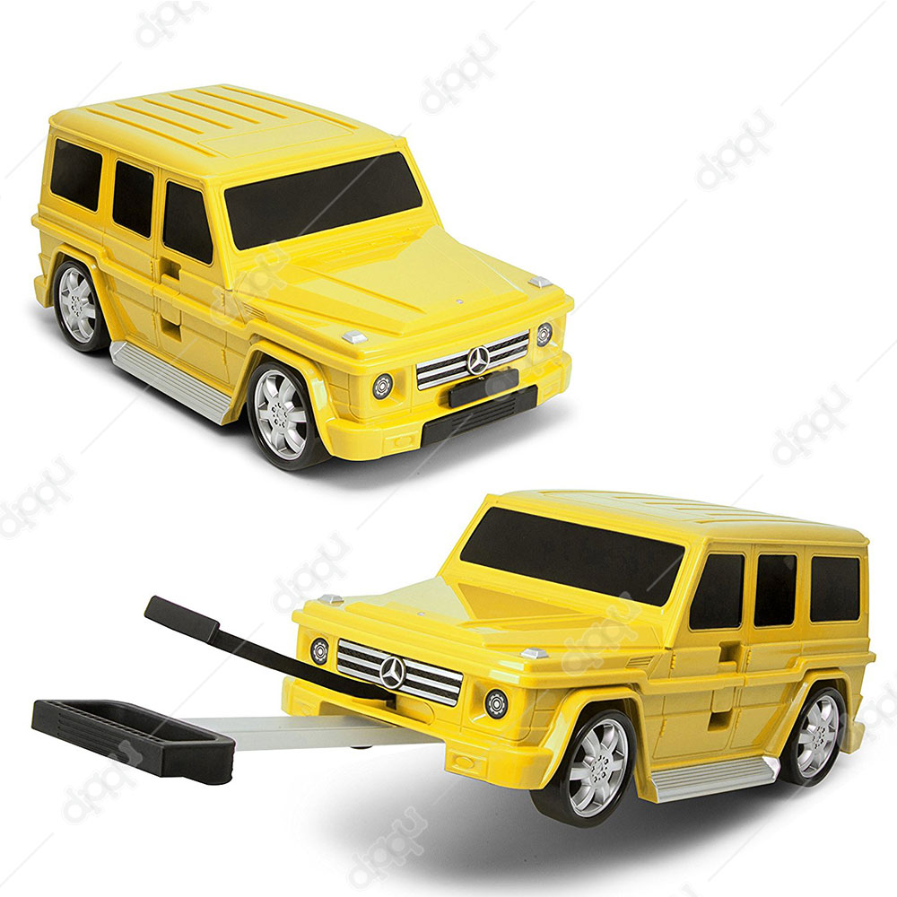Welly Yellow Mercedes G63 Trolley Bag