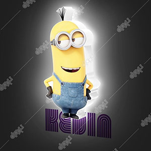 Mini Kevin 3D Deco Light