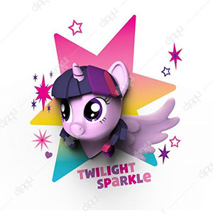 My Little Pony Twilight Sparkle 3D Deco Light