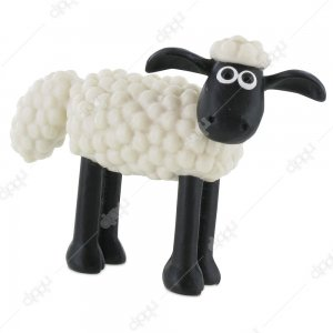 Shaun the Sheep on Four Legs Figurine