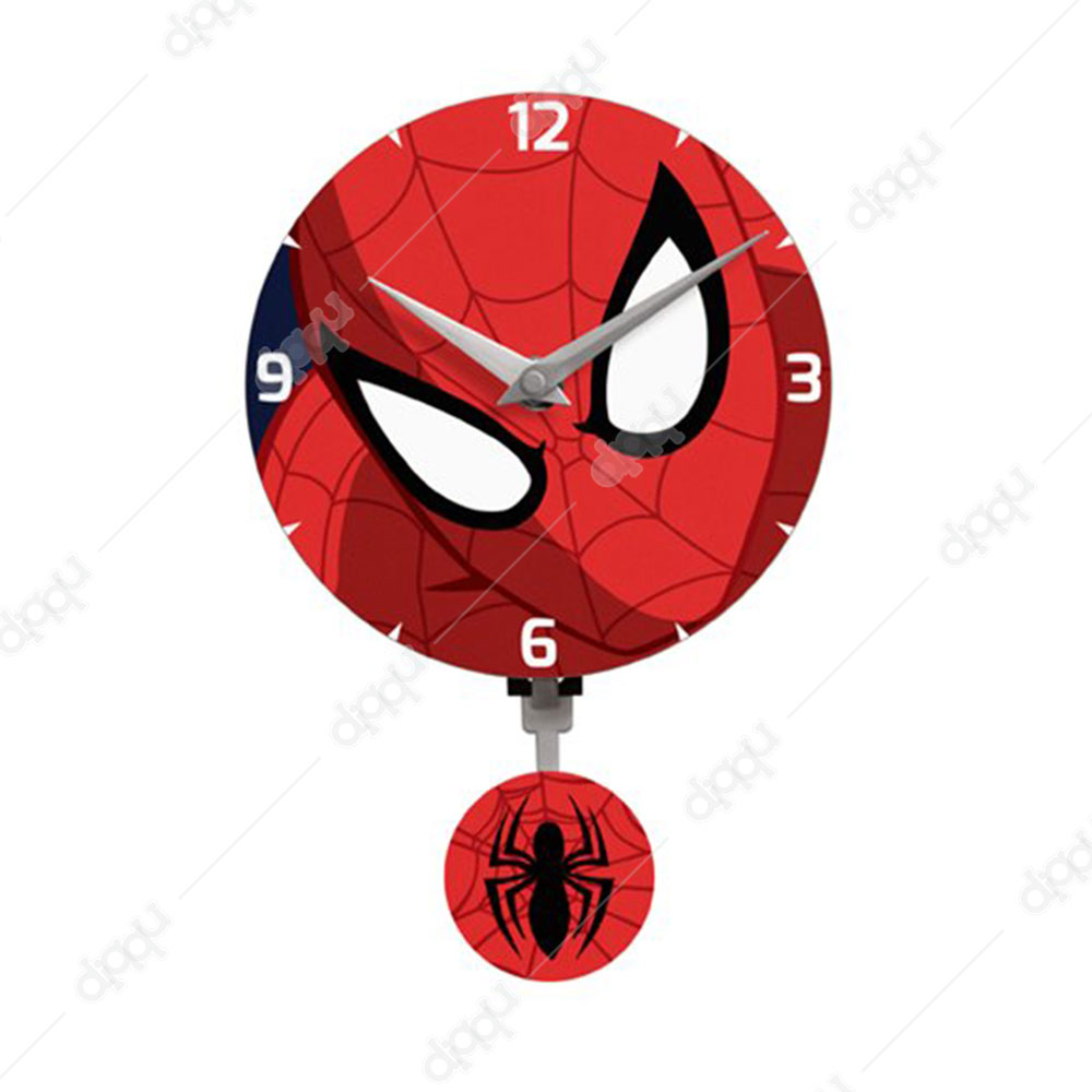 NJ Croce Spider-Man Mini Motion Clock