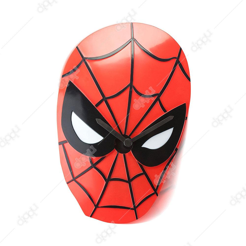NJ Croce Spider-Man Face Wobble Clock