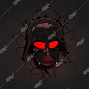 Limited Star Wars Darth Vader Helmet Light with remote