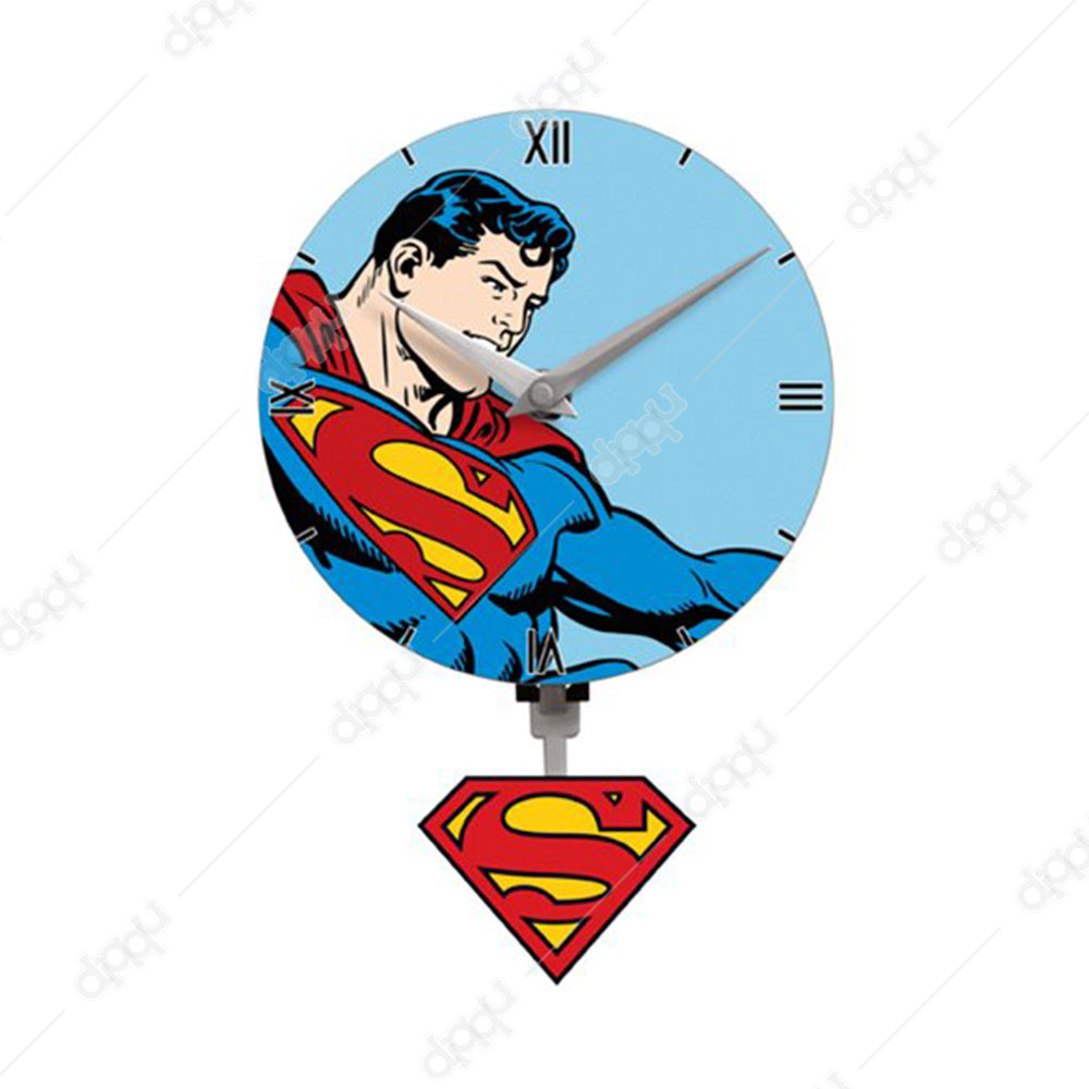 NJ Croce Superman Mni Motion Clock