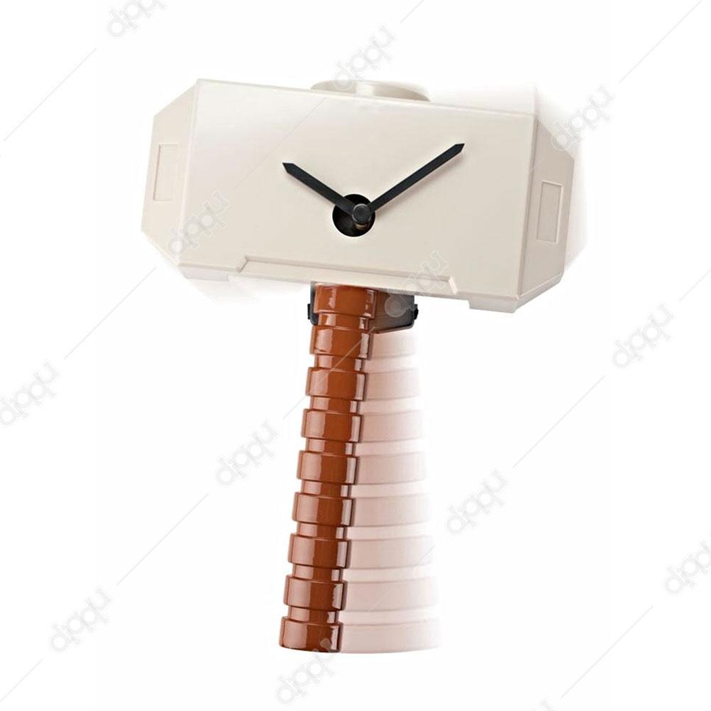 Thor's Hammer Wobble Clock