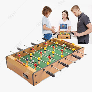 Wooden Football Game Table