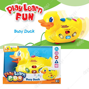 Play Learn Fun Busy Duck