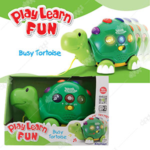 Play Learn Fun Busy Tortoise