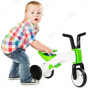 Bunzi 2-in-1 Gradual Balance Bike (Lime)