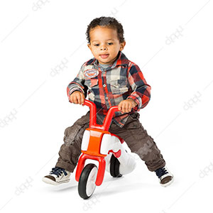 Bunzi 2-in-1 Gradual Balance Bike (Red)