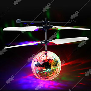 Flying Disco Ball with IR Sensor Aircraft