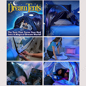 DreamTents Pop up Bed Tent