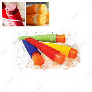 6 Pcs Silicon Ice Lolly Maker