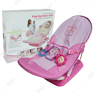 Infant Baby Seat With 2-Speed Vibration